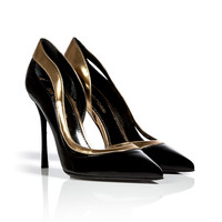Sergio Rossi - Patent Leather D'orsay Pumps
