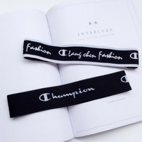 Day-First™ Champion Sports Casual Letter Simple Hair Band Of Yoga And Fitness Headband Headband With Headbands