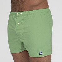 Solid Bright Green Boxer Short - Jens Size L Available