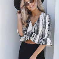 Lost In You Crop Top
