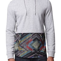 On The Byas Atlas Neps Pieced Hooded Shirt - Mens Shirt