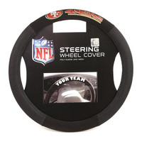 San Francisco 49ers NFL Mesh Steering Wheel Cover