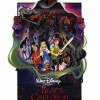 The Black Cauldron 27x40 Movie Poster (1985)