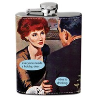 Drinking Is My Hobby Hip Flask