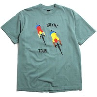 Bike Tour T-Shirt Atlantic Green