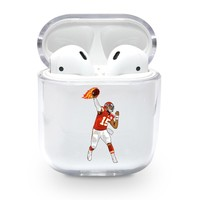 Patrick Mahomes Chiefs Airpods Case