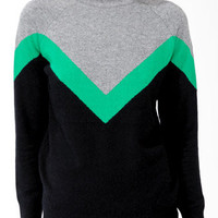 Tri-Color High Neck Sweater | FOREVER 21 - 2031557339