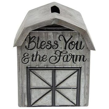 Bless You and The Farm Tissue Box