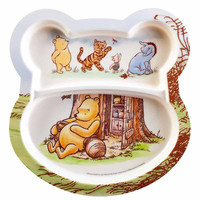 Your Kids Will Love Eating with These Winnie the Pooh Kids Plate 2-pack