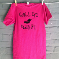 Call Me Maybe Shirt Carly Rae Jepsen Song - All Sizes Available