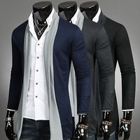 Men Cardigan Strong Character Sweater Hoodies Jacket [6528748483]