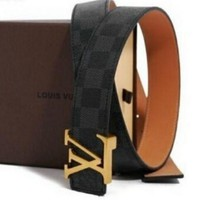 DCCK5 LOUIS VUITTON BELT GENUINE LEATHER BELT BELTS NEW