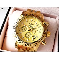 BREITLING 2019 new men and women models high-end wild fashion quartz watch #2
