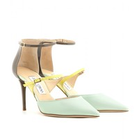 mytheresa.com - Twist leather pumps - Luxury Fashion for Women / Designer clothing, shoes, bags