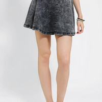 Urban Outfitters - B.P. Collection Acid-Wash Circle Skirt