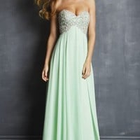 Embellished Chiffon Gown by NightMoves by Allure