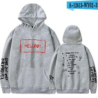 Hoodies Hell Boy Lil.Peep Men Women Hooded Pullover Male Female Sweatshirts