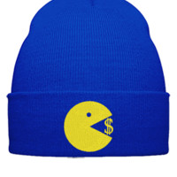 Eating Money  Manny Pacquiao  Snapback,Hat, - Beanie Cuffed Knit Cap