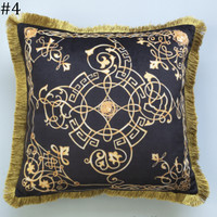 Versace 2018 new street fashion hipster living room sofa pillow F0933-1 #4