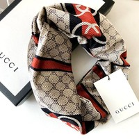 GUCCI new knit women's cross hair band