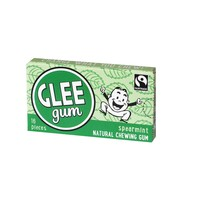 Glee Gum All Natural Chewing Gum Spearmint - 16 Pieces