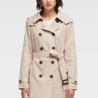 BELTED TRENCH COAT - Outerwear - Sale - DKNY - Donna Karan