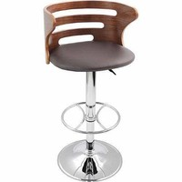 Cosi Bar Stool Walnut/Brown by Lumisource