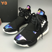 """""""Adidas"""" Y-3 Casual light couples tide shoes comfortable breathable men and women black warrior sports running shoes"""