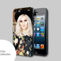 Perrie Edwards floral For iPhone, Samsung Galaxy and iPod cases