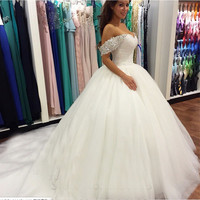 9029 Button back 2016 New Beads Crystal Sweetheart Lace White Wedding Dresses for brides plus size maxi size 16 18 20 22 24 26