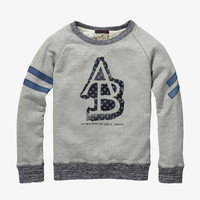 Scotch Shrunk Crewneck Sweatshirt - 1446-06.40593 - Grey Melange - FINAL SALE