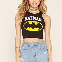 Batman Graphic Crop Top