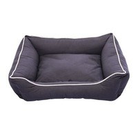"""Dog Gone Smart Lounger Bed Small 22""""x 20"""" Pebble Gray"""