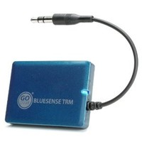 GOgroove BlueSENSE TRM Audio Streaming Bluetooth Transmitter with 3.5mm AUX Connection - Works with Apple , Samsung , Sony and More