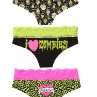 Too Fast Zombie Hot Pants 3 Pack