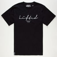 Lrg Lifted 1947 Mens T-Shirt Black  In Sizes