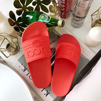 GUCCI Fashion Slippers