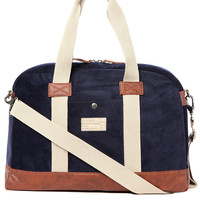 Hex Accessories Laptop Duffle Bag in Navy Cord
