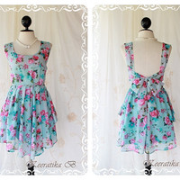 A Party  Cocktail Dress Prom Party Dinner by LovelyMelodyClothing