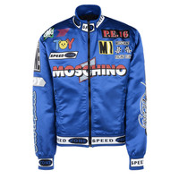 90s Era Racing Jacket by Moschino