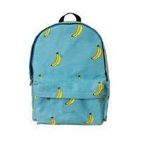 CrazyPomelo Original Banana Blue Backpack From Pomelo