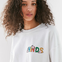 Hinds Pigs Crew-Neck Sweatshirt   Urban Outfitters