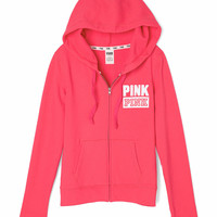 Perfect Full Zip - PINK - Victoria's Secret