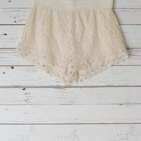 Angelica Lace Shorts