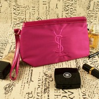 ONETOW YSL Waterproof Oxford cloth bag Large Cosmetic Bag Fashion Women Brand