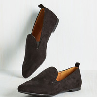 Through Kick and Thin Loafer | Mod Retro Vintage Flats | ModCloth.com