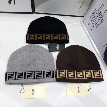 FENDI Set head hat