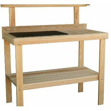 Heryshy Way Cypress Potting Table