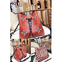LV fashionable lady casual printed shoulder bag hot seller with shopping Mosaic color #2