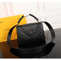 LV Louis Vuitton MONOGRAM LEATHER Capucines BB HANDBAG INCLINED SHOULDER BAG